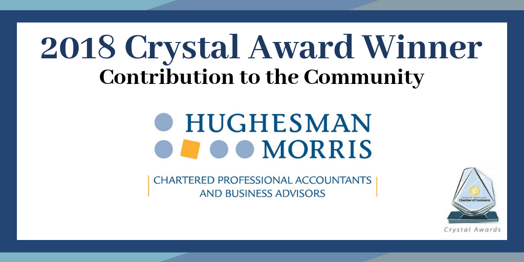 2018 Crystal Award Winner - Contribution to the Community
